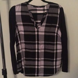 KENSIE PLAID TOP [ long sleeve ]
